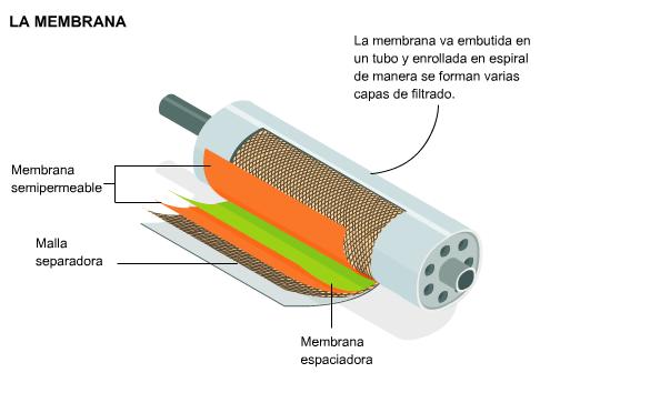 Membrana de osmosis